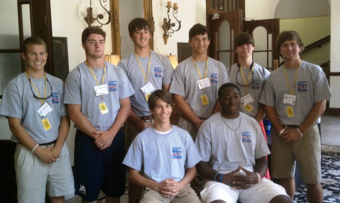 American Legion Boys State 2011 officers