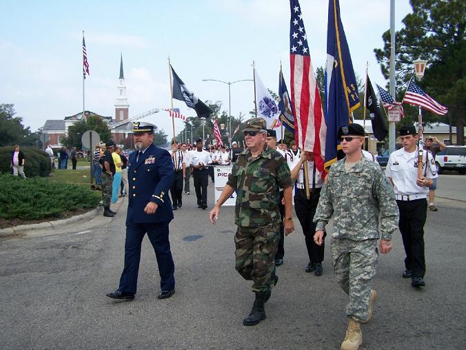 Veterans Parade Picayune MS American Legion Post 73